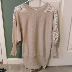 Miracle City Lace Sweater